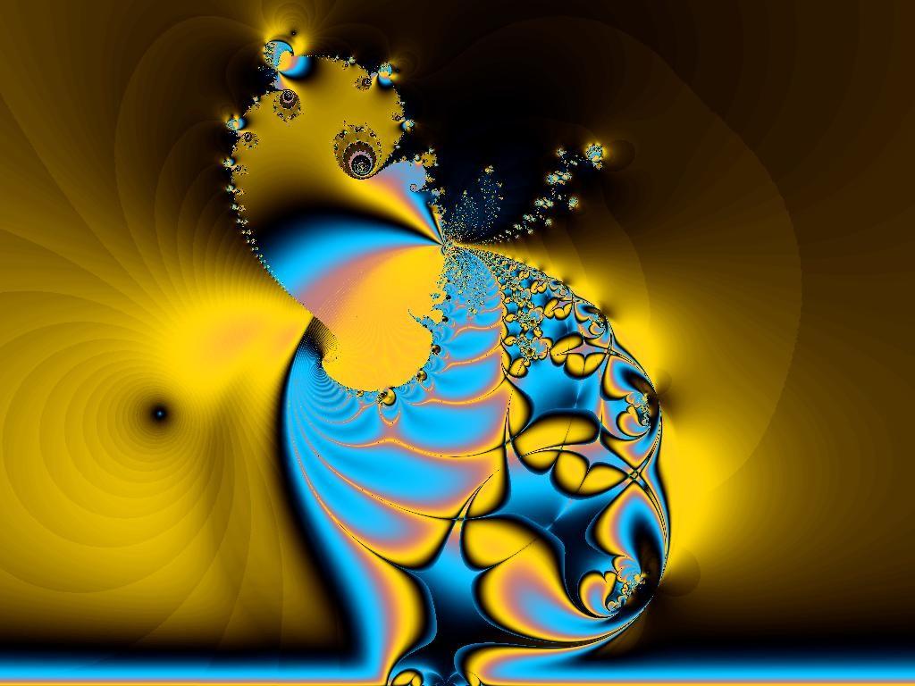 Crédito: Psique (fractal) - criação do Prof. Fernando T. Giglio